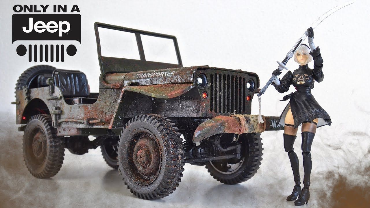 Willys Weathering And Size Comparison Willys Willys Jeep Monster Trucks