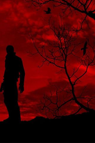 Resident Evil Resident Evil Scary Art Red