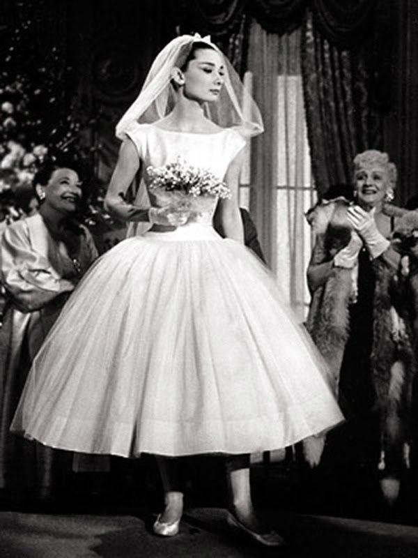 bodas años 50 | vintage | boda audrey hepburn, vestidos de novia y