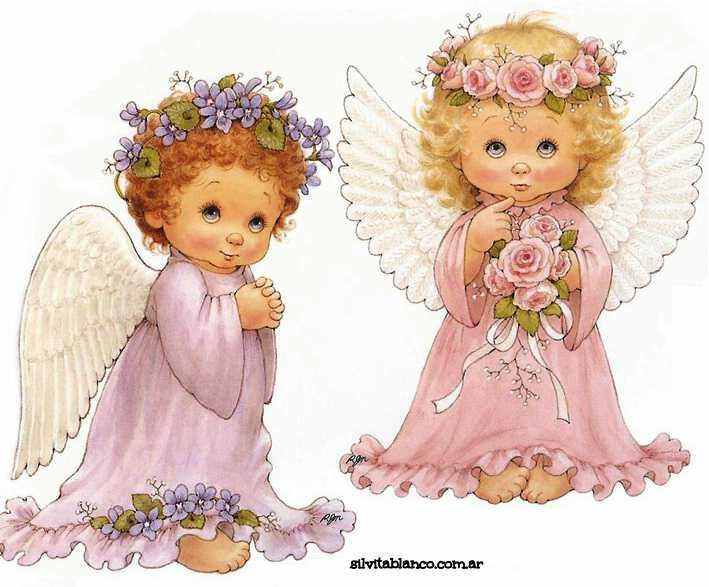 Ангелы картинки для печати