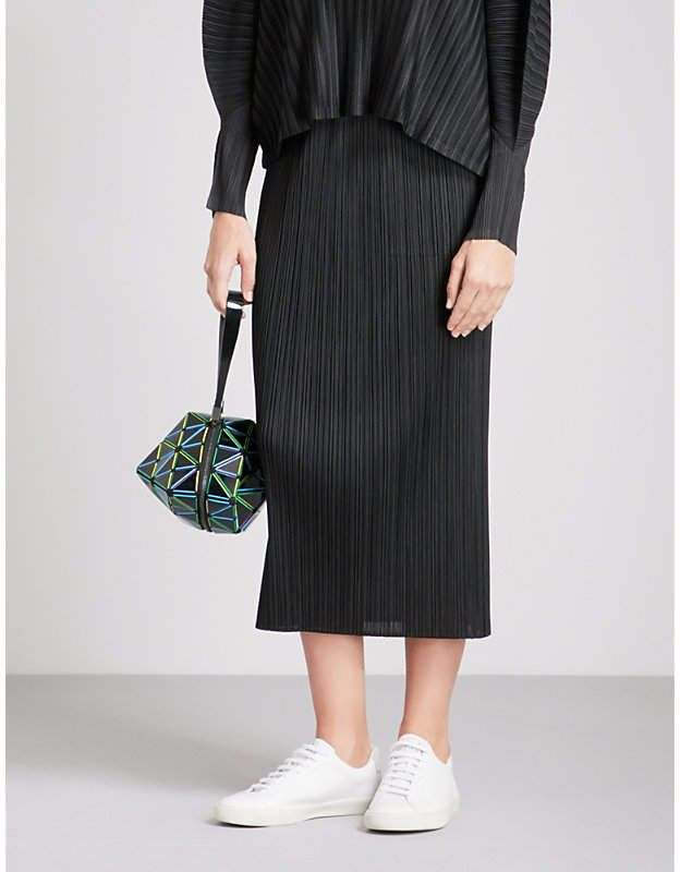 15a4bee782 PLEATS PLEASE ISSEY MIYAKE Basics high-rise pleated skirt | Products ...