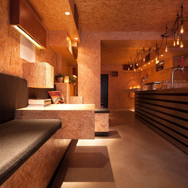 Interior design Mash Amsterdam; design by bar