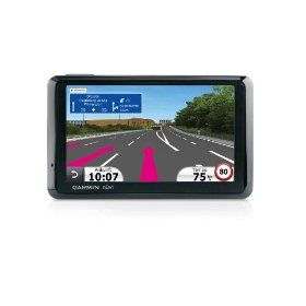 #8: Garmin nvi 1370/1370T 4.3-Inch Widescreen Bluetooth GPS Navigator with Maps of North America  Europe and Lifetime Traffic.