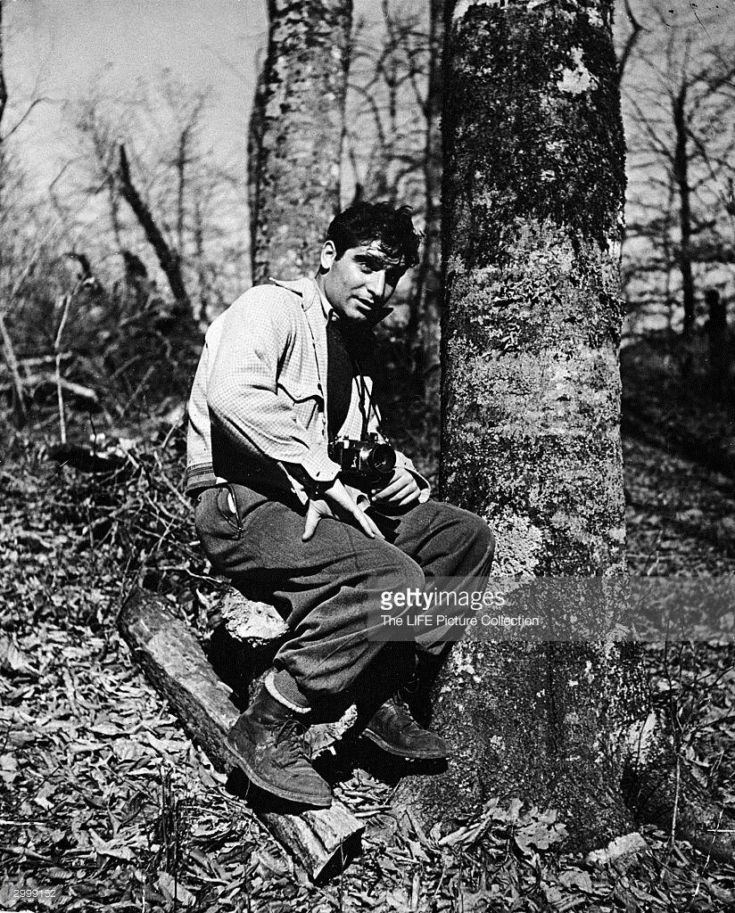 Portrait of Hungarianborn photographer and journalist