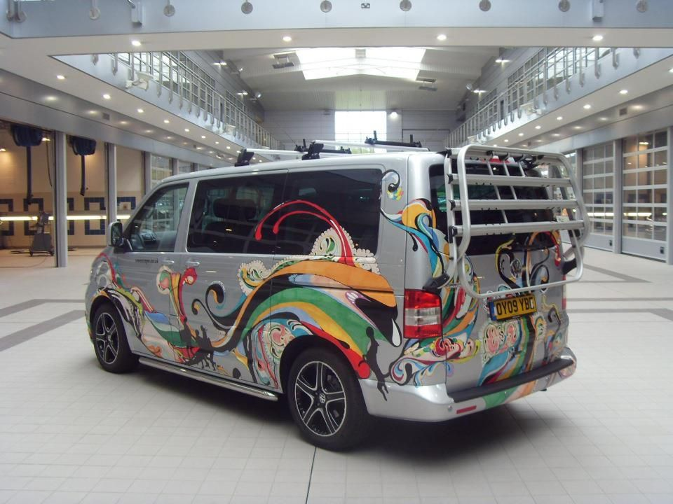 Side Vinyl Let Me See Your Vans Decals Please VW T Forum - Custom vinyl decals for carvinyl car use vinyl decals to refresh your cars look