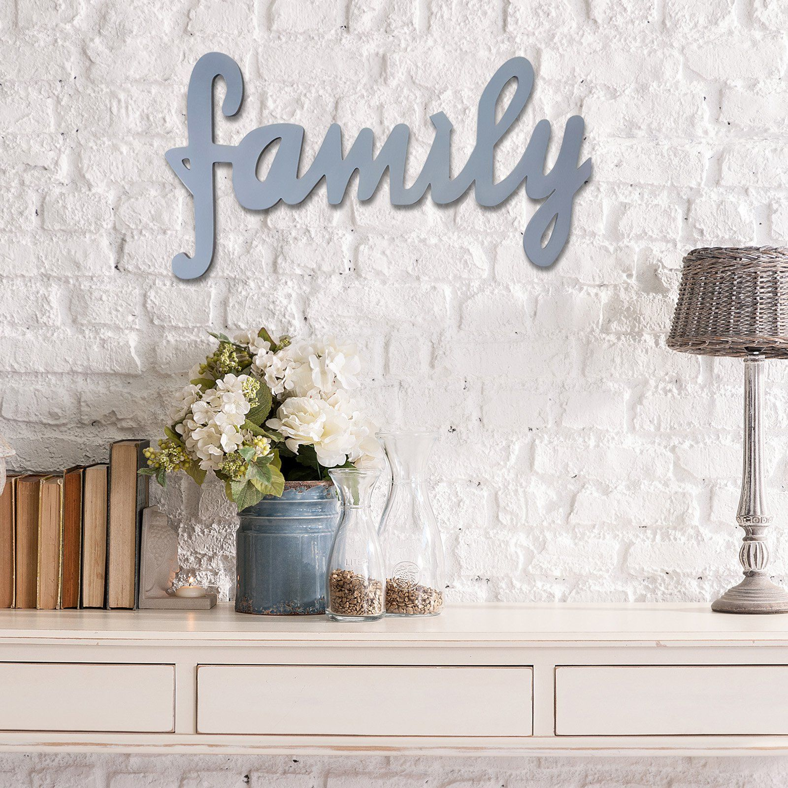 Stratton Home Family Script Wall Sculpture - S03891 | Products ...