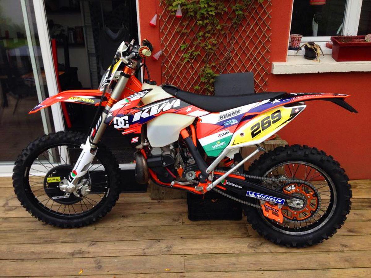 ktm 300 exc 2015 250 by xtreme design racing kit d 233 co motocross ktm 300