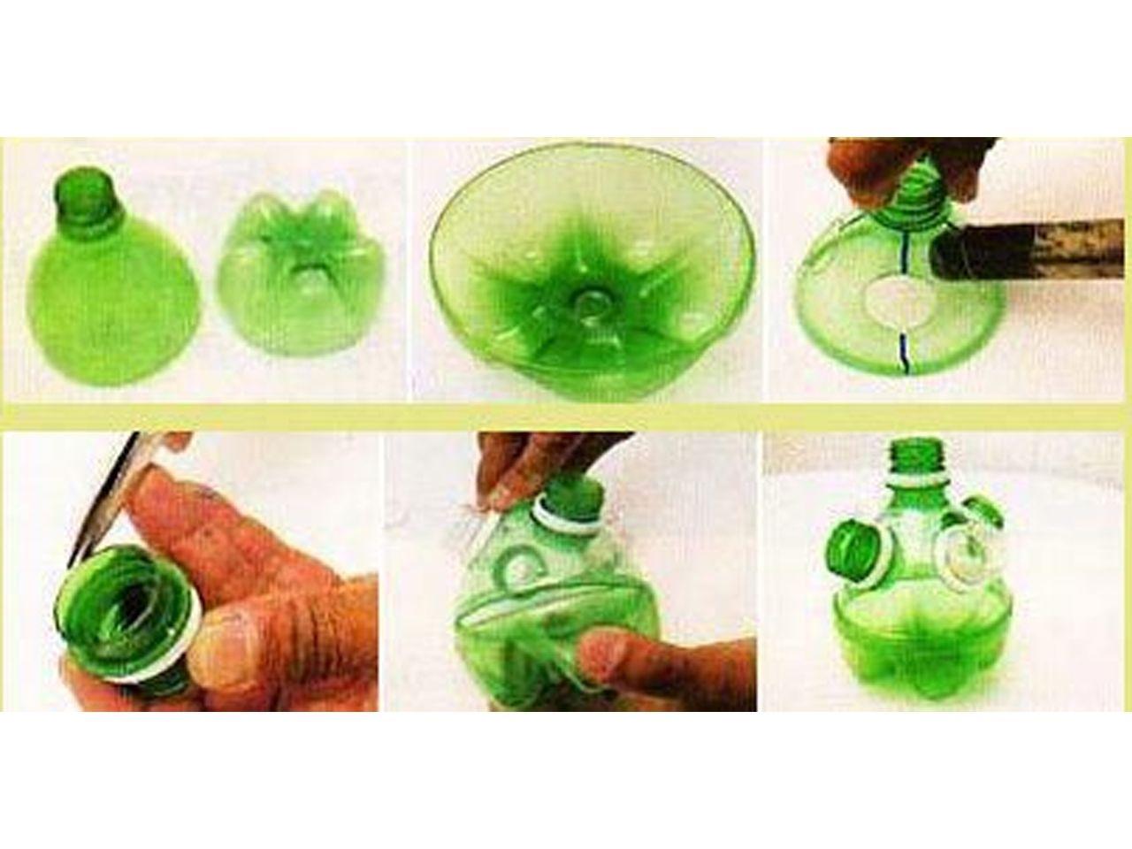 70 ideas de reciclaje con botellas de plástico   Recipientes de ...