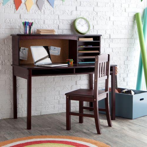 Guidecraft Media Desk Chair Set Espresso Www Hayneedle Com Desk And Chair Set Childrens Desk And Chair Best Home Office Desk