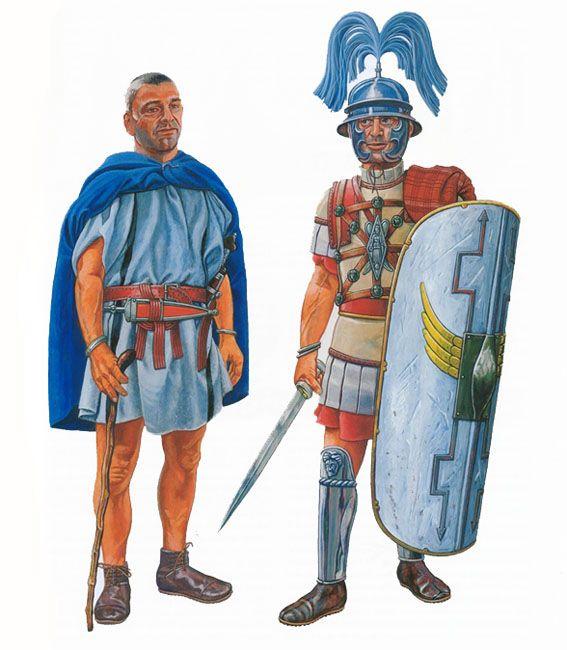 Minucius T. F. Lorarius, centurio of the Legio III Martia, 40-30 BC & Centurio of the Legio VII, VIII or IX Aquileia, 58 BC