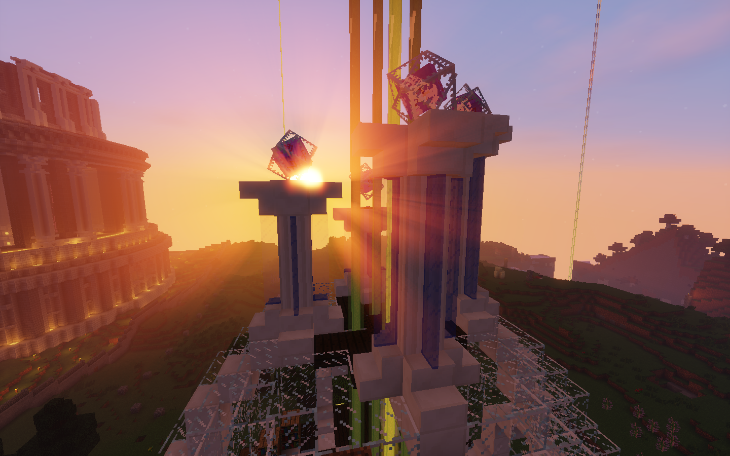 whocraft, project hope, enchanting temple Tower, Cn