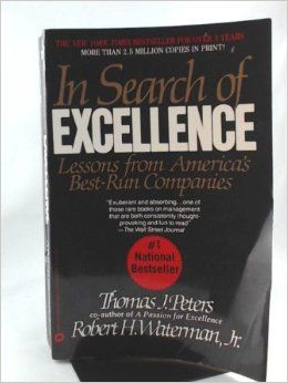 In Search of Excellence is one of the most read books on management, and till today, has been widely acclaimed to be one of the best around.