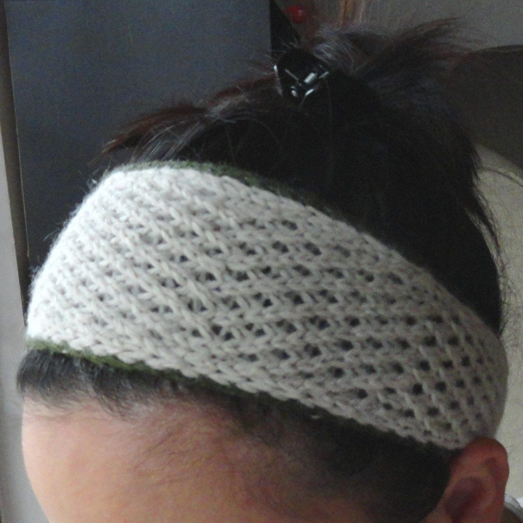 Easy day headband free knitting pattern headbands or kerchiefs easy day headband free knitting pattern bankloansurffo Images