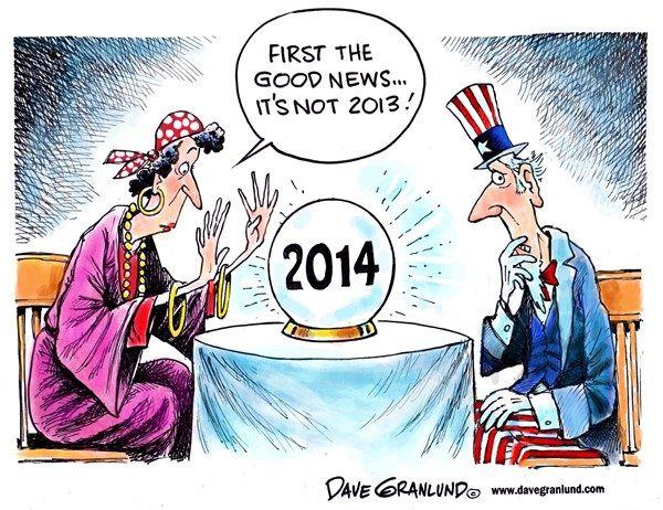 Dave Granlund  - Predictions 2014  - Uncle Sam