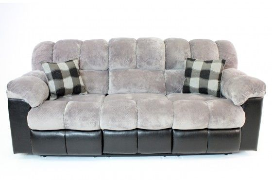 Mor Furniture for Less Fountain Gray Sleeper Sofa Sofas