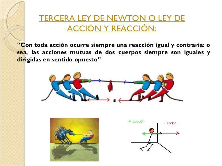 Ciencia Sexto Leyes De Movimiento De Newton Leyes De Newton Tercera Ley De Newton Curso De Fisica