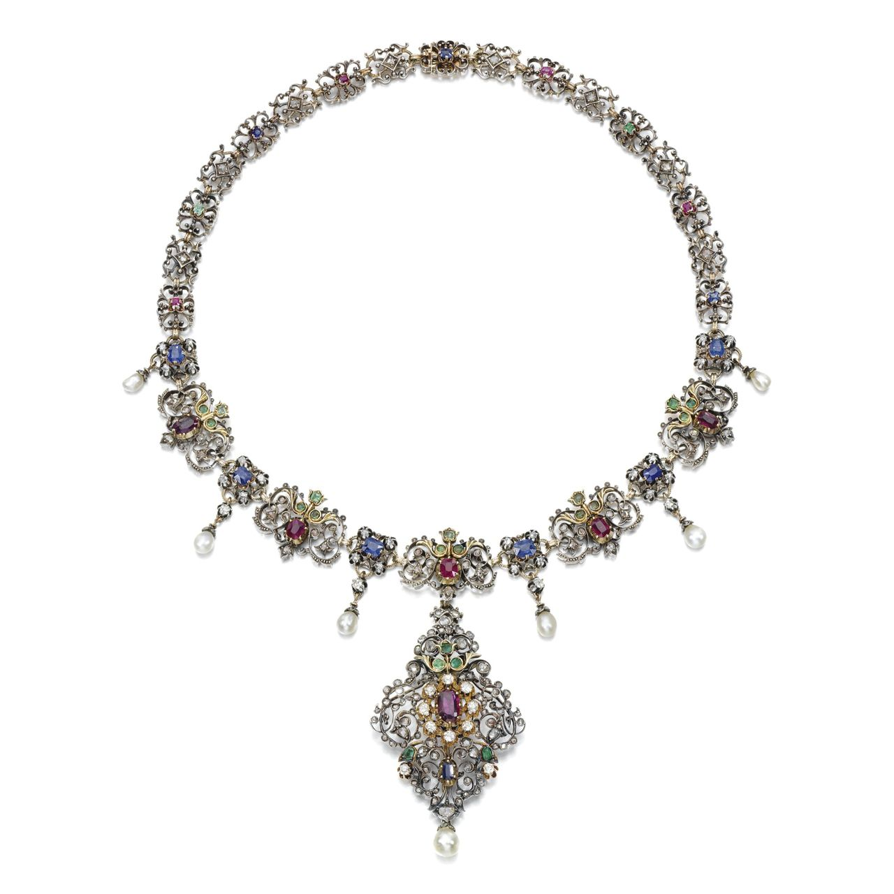 Necklace, 1880s