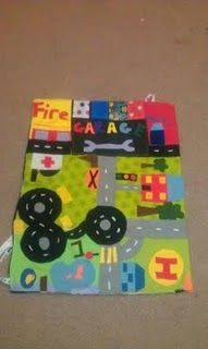 The carry along car mat  (Make this for The Boy.)