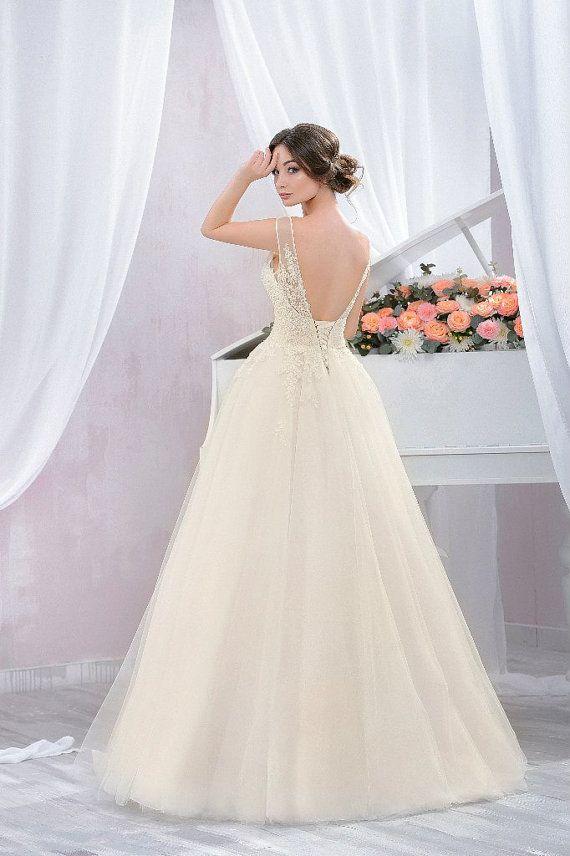 Vestido de novia boda romántica de baile con el por LussoDresses