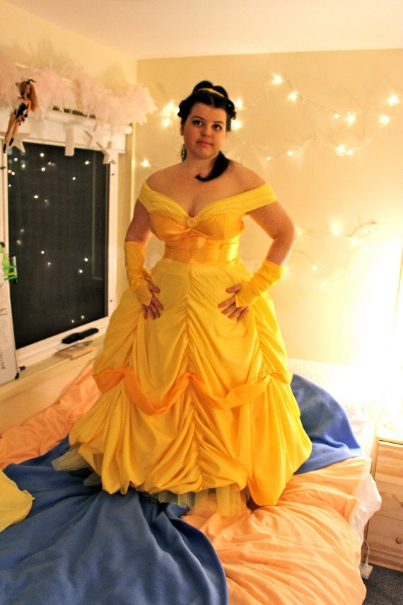 princess belle ball gown beauty and the beast by queeniethecutie