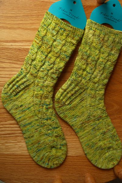 Snake River Socks, free pattern from Persistent Illusion | Knitting ...