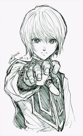 Hunterhunter Kurapika Dessin Mangaka Hiroshiueda Dessin Manga Coloriage Manga Et Dessin Anime
