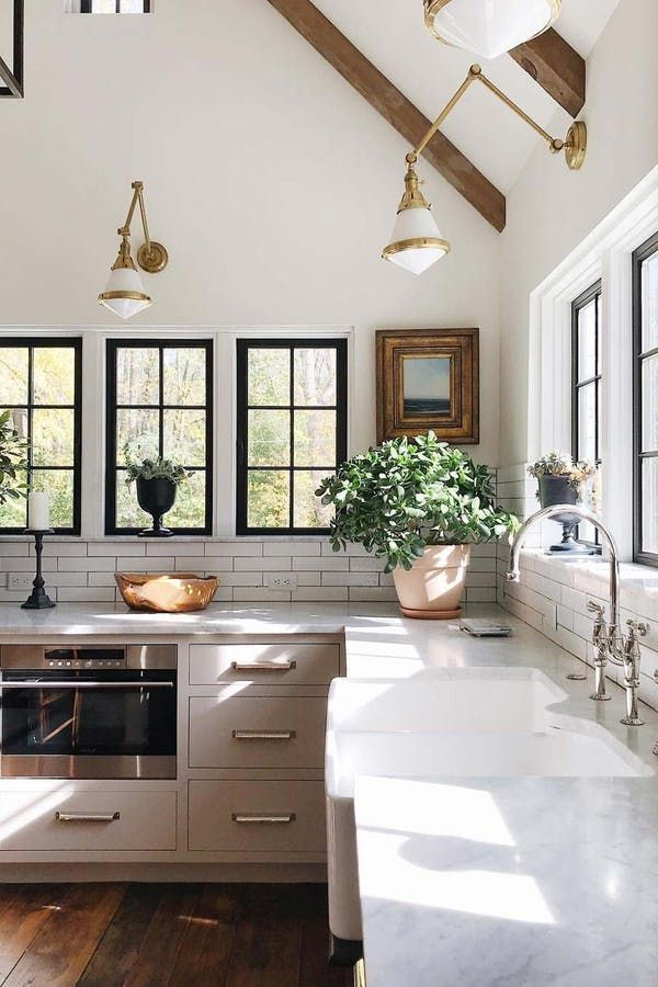 10 Truly Easy Ways To Fancy Up Your Kitchen Purewow Decor Home Renovation