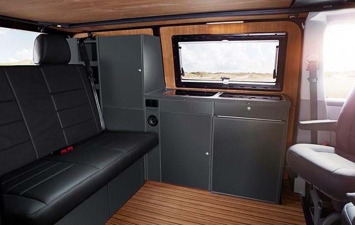 Inside A Custom Bus Camper Vwcamper Vwt5 Campervan Vanlife