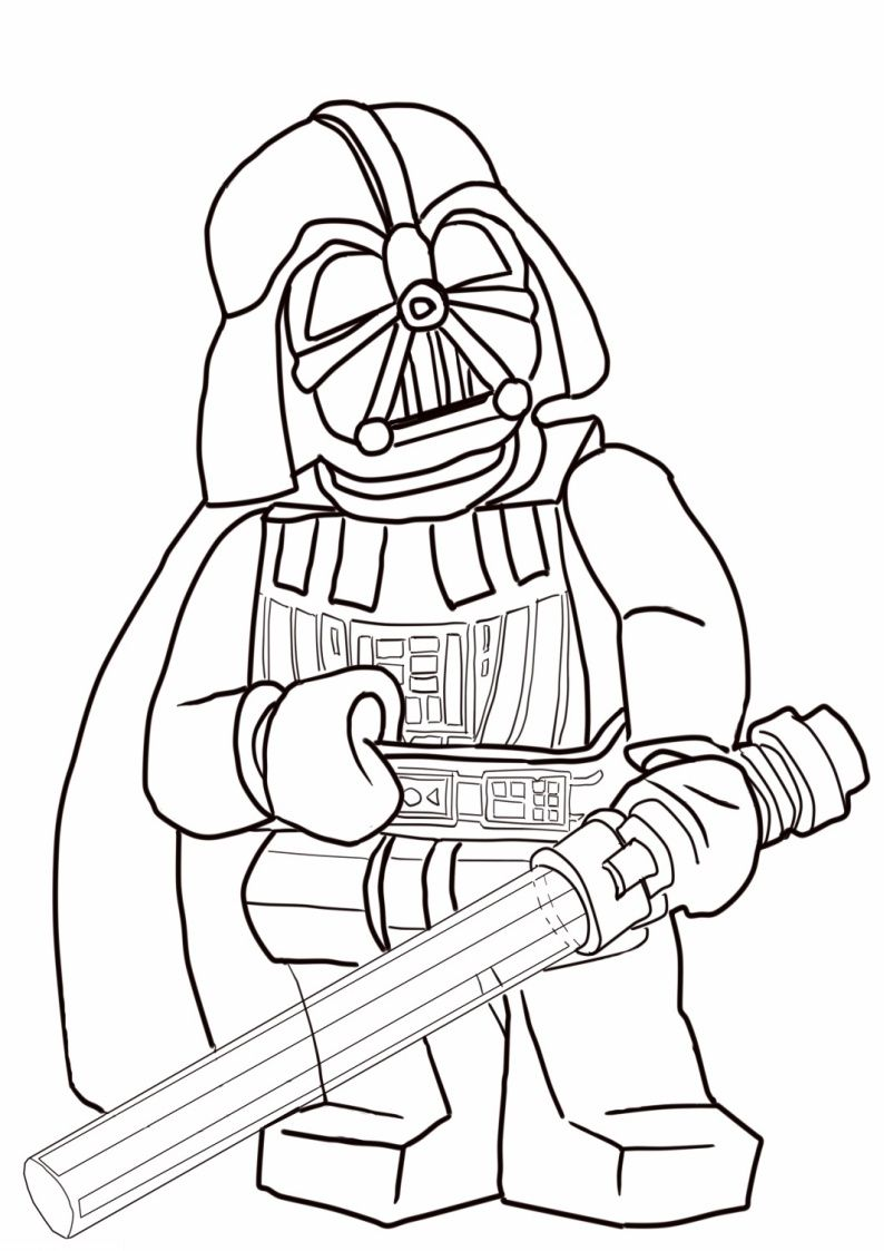Lego Coloring Pages Darth Vader Star Wars Coloring Book Lego Coloring Pages Star Wars Coloring Sheet