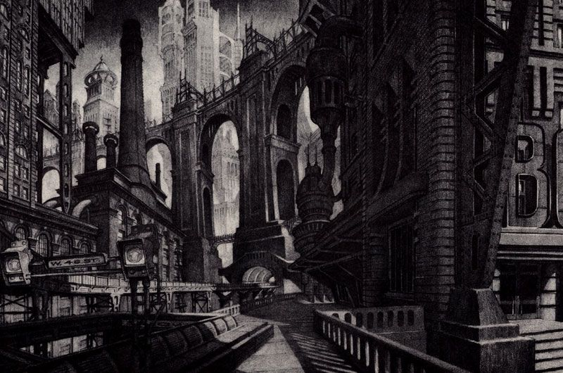 Gotham 2 Science Fiction Dystopia Future Noir Blade Runner