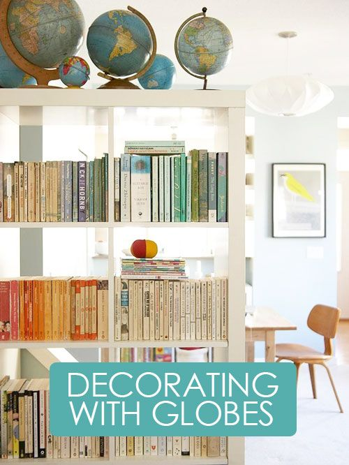 Decorating+with+Vintage+Globes | Crafty Ideas | Pinterest | Vintage Globe,  Globe And Decorating