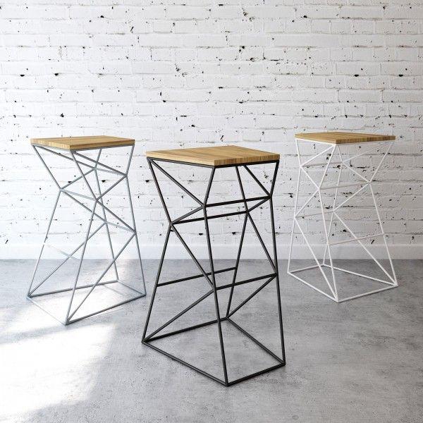 Simple and concise barstool  - designer mobel timothy schreiber stil