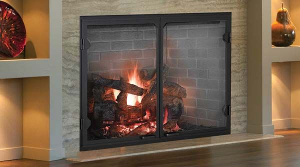 Majestic Biltmore Radiant Wood Burning Fireplace 36 Inch Wood