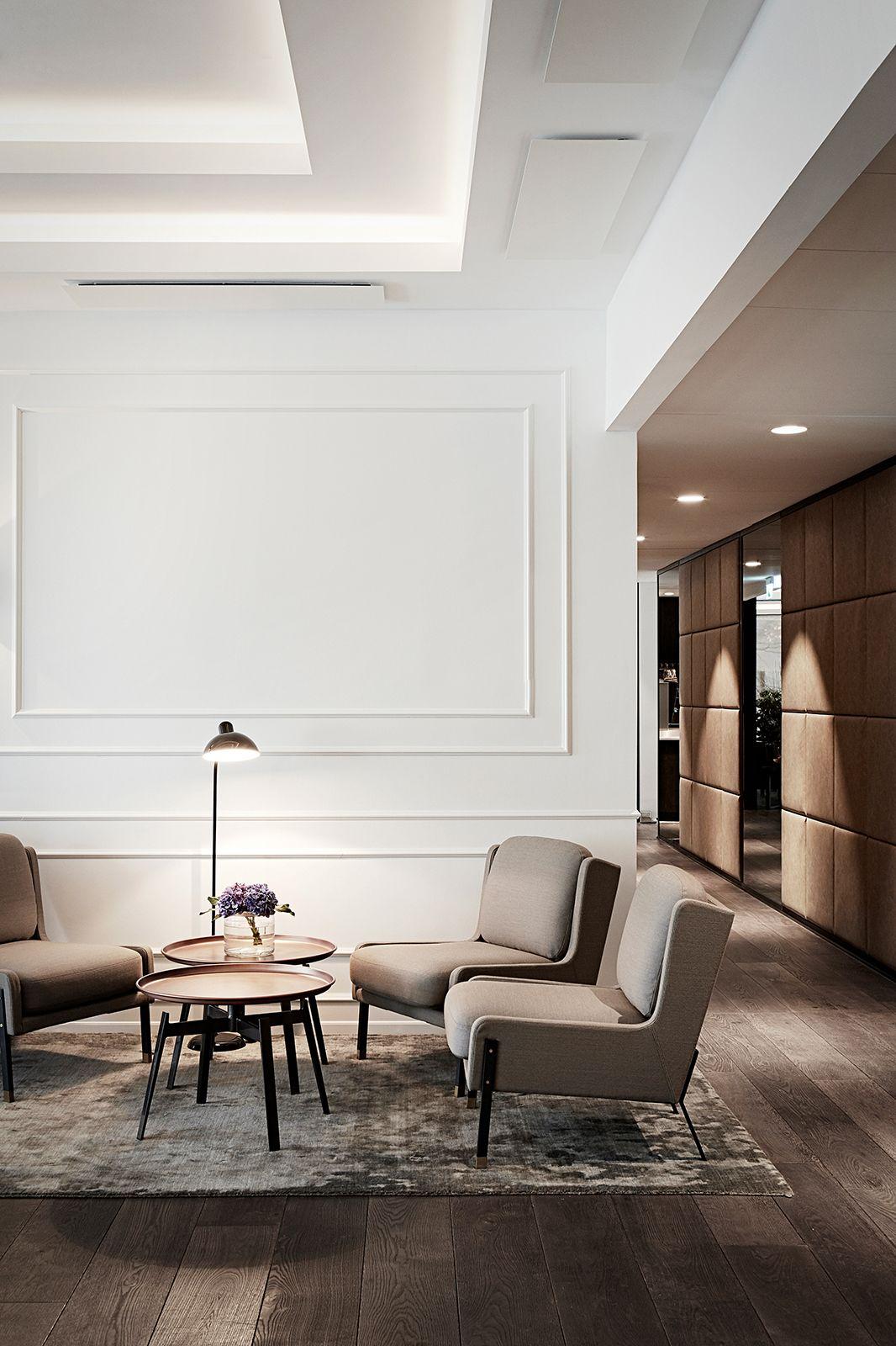 Marriott copenhagen executive lounge interior design by for Sala de estar oficina