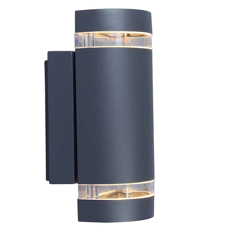 Eco light modern outdoor wall light focus up and downlight gu