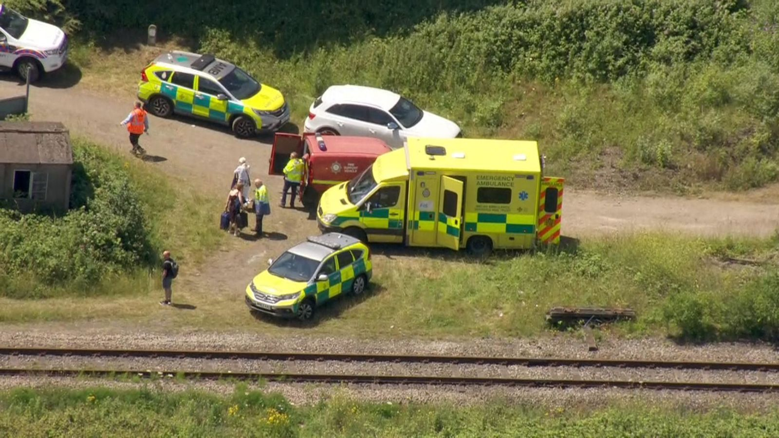 Two Railway Workers Killed After Being Hit By Train Near