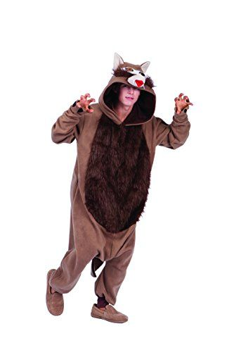 Introducing RG Costumes Mens Graywind Wolf Brown One Size. Get Your Ladies Products Here and follow us for more updates!