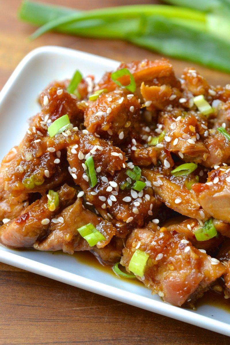 Spicy Orange Chicken Recipe Orange chicken, Whole food