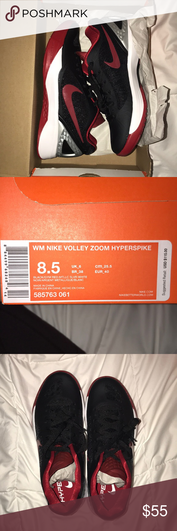 d568d0d89823 Nike Volleyball Shoes - Zoom Hyperspike 8.5 Size 8.5 New with box. Never  been worn and in perfect condition. Nike Shoes Athletic Shoes