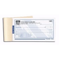 Invoice Books Custom Extraordinary 691T Personalized Receipt Books  Color Collection  Receipt Books .