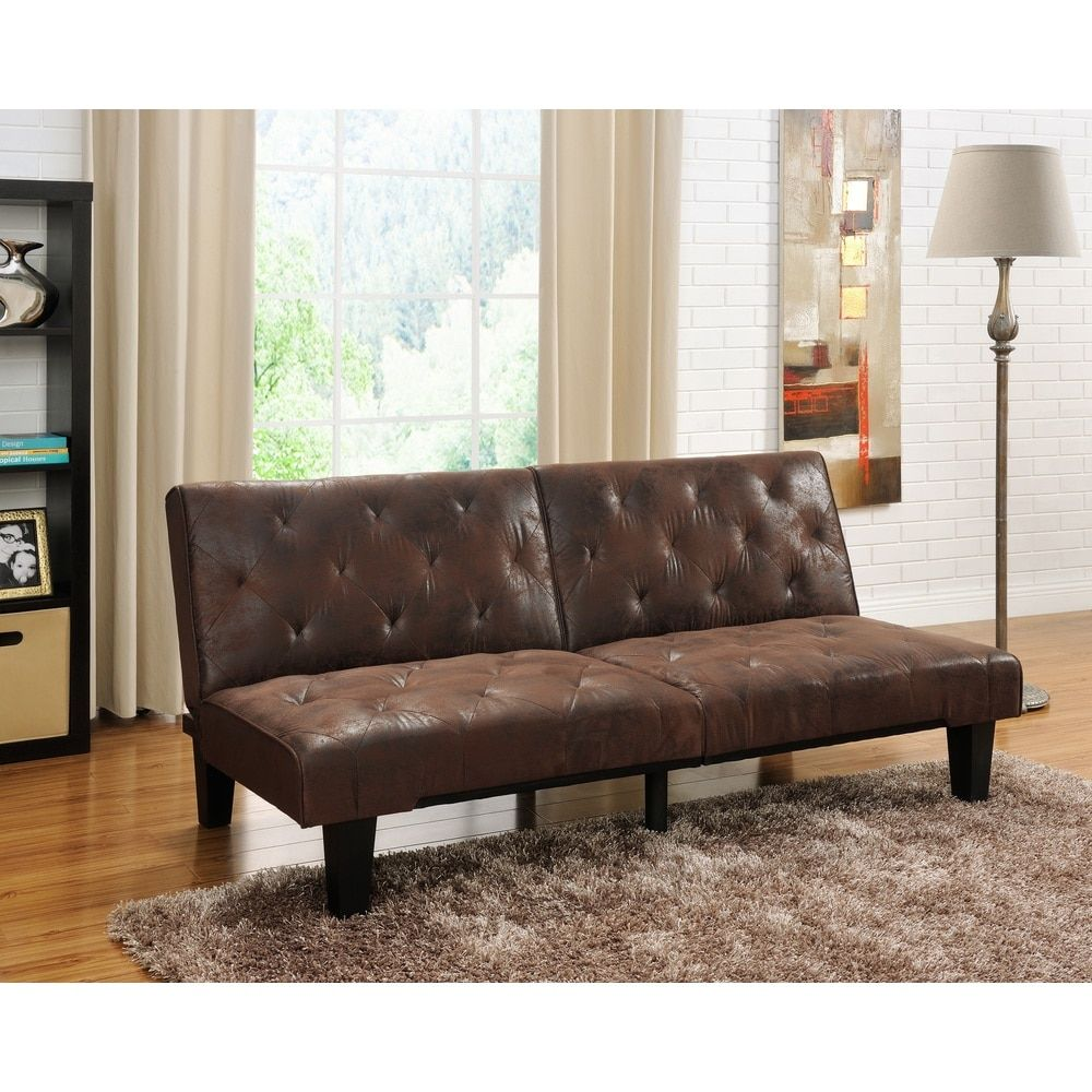 DHP Venti Futon Sofa Bed Free Shipping Today Overstockcom