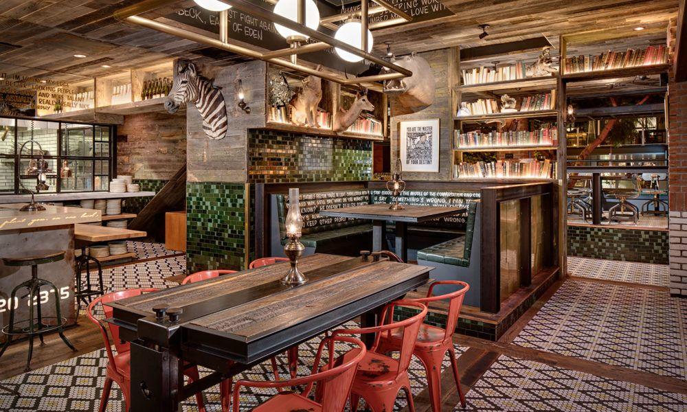 Craft and Commerce Interior Design Restaurant design