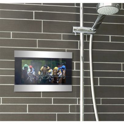 Techvision 7 Inch Waterproof Lcd Tv To Take Having Bath To A Whole New Level Shower Tvs Tv In Bathroom Tvs