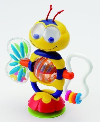 Bobble Bee Suction Toy New Baby Munchkin 2 Count Play Features Educational Color #munchkin