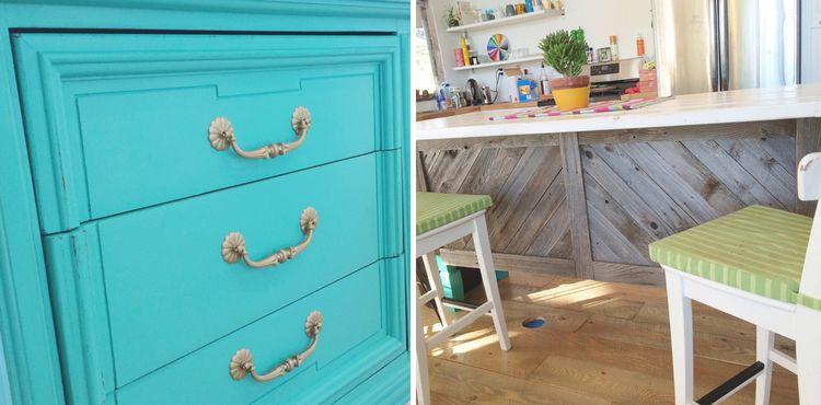 Transformed: Vintage Dresser to Kitchen Island — Nesting Gypsy