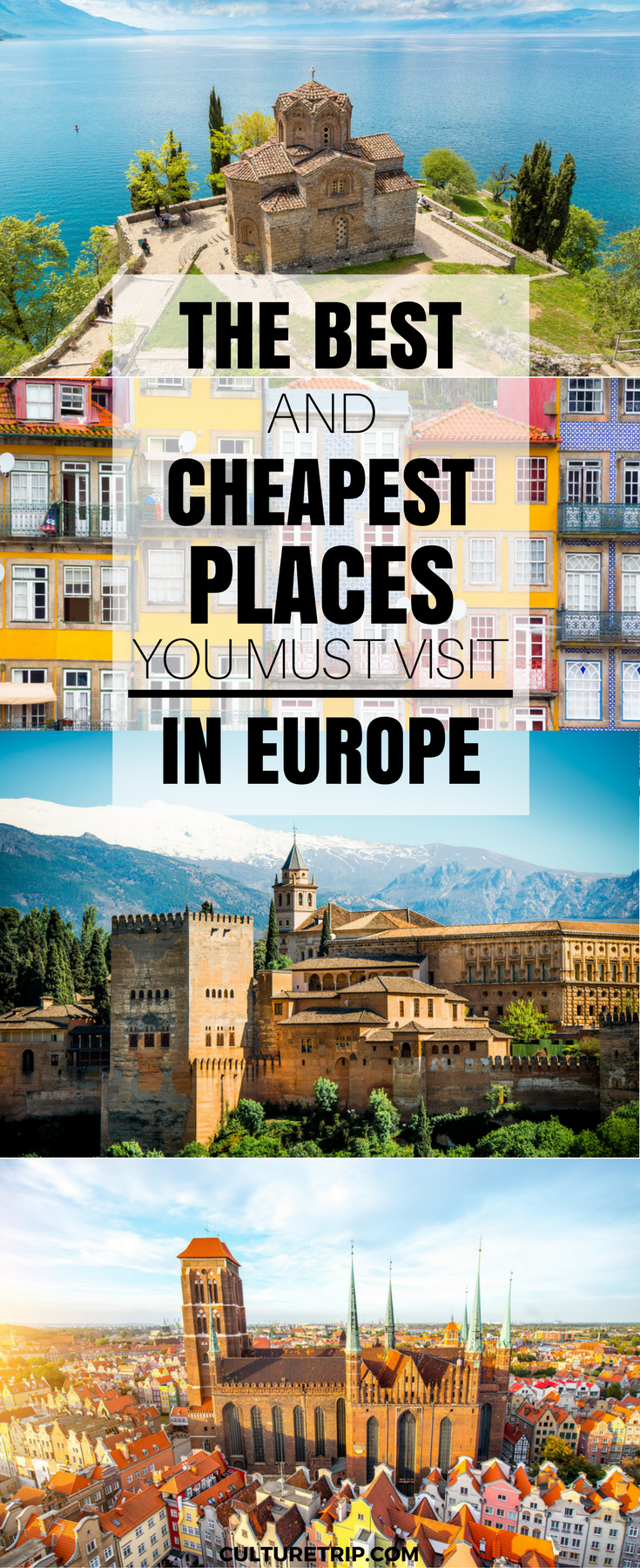 The best and the cheapest places to go in europe this for Cheap places to move to