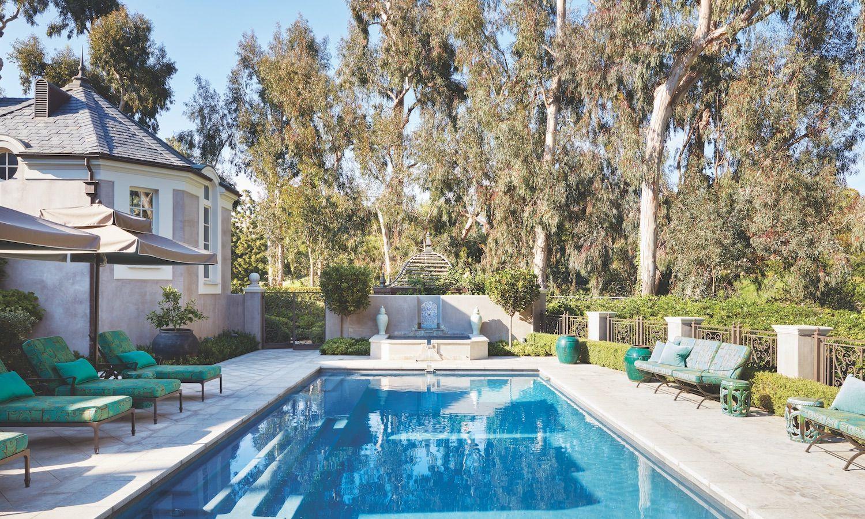 Dream Backyard Design At A Los Angeles Estate Backyard Pool Designs Backyard Design Dream Backyard