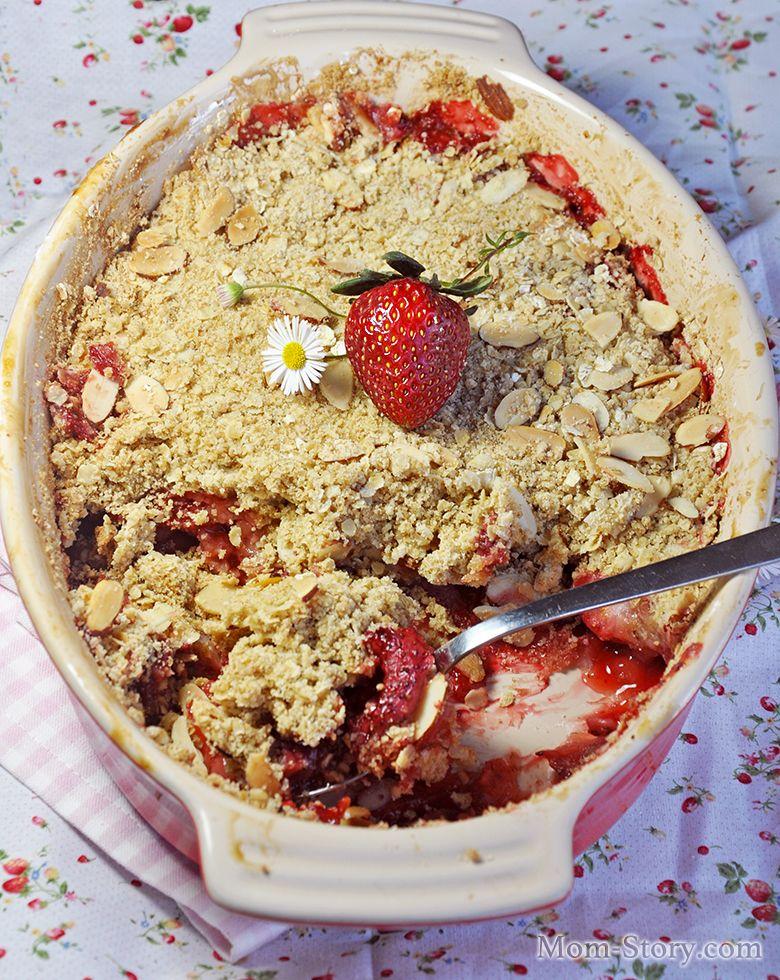 рецепты десерта крамбл с фото