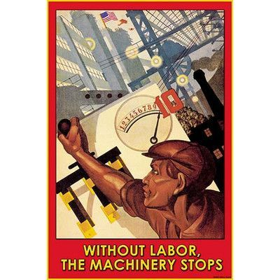 Buyenlarge 'Without Labor' by Wilbur Pierce Vintage Advertisement
