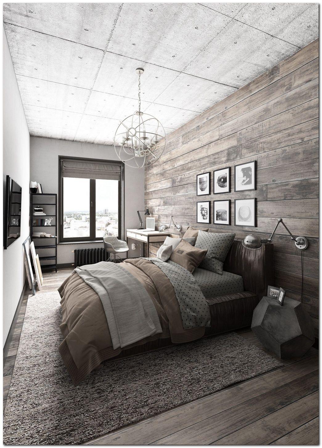 70 Ideas For Industrial Bedroom Interior The Urban Interior Bold Master Bedroom Rustic Master Bedroom Cozy Bedroom Design